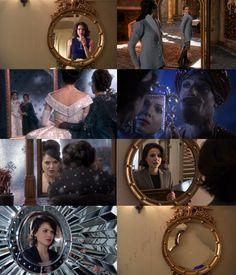 Regina and her mirrors.