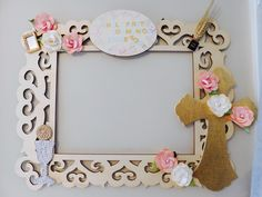 First communion -frame-picture-decoration