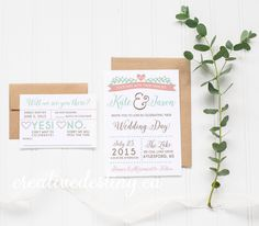 Outdoor Rustic Wedding Invitation Template, Casual Wedding Invitation Digital Download, Whimiscal Wedding Printable Invitation by ACreativeDestiny on Etsy https://www.etsy.com/ca/listing/222183714/outdoor-rustic-wedding-invitation