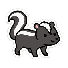 Cute Easy Animal Drawings, Easy Disney Drawings, Cute Drawings, Cat Stickers, Funny Stickers, Homemade Stickers, Cute Cartoon Pictures, Kawaii Doodles, Simple Cartoon
