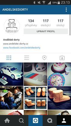 Andělské dorty také na instagramu. #instagram @andelskedorty  https://www.instagram.com/andelskedorty/