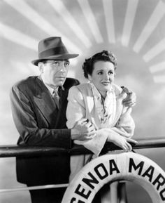 "1942 Movie | Humphrey Bogart and Mary Astor in ""Across the Pacific"" (1942)"