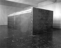 "#ART | Santiago Sierra | ""Container in Space"" (1991)"