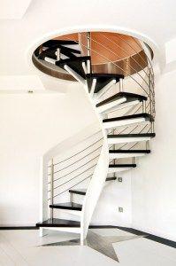 modern-circular-staircase-design-ideas Turn Your Old Staircase into a Decorative Piece