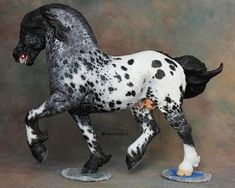 Peasant Stomper Resin, sculpted and CM by Debbi Lermond Painted by C. Clydesdale Horses, Appaloosa Horses, Pretty Horses, Beautiful Horses, Horse Saddles, Horse Halters, Bryer Horses, Western Pleasure Horses, Show Horses