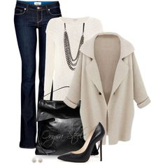 """Winter White"" by orysa on Polyvore"