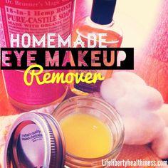 #DIY Make-Up Remover