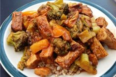 """Vegan Sweet and Sour """"Chicken"""""""