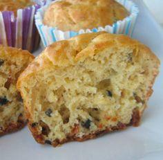 Muffin salati alla mediterranea