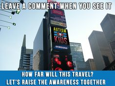 Lets see how far awareness can travel! #Autism #ASD