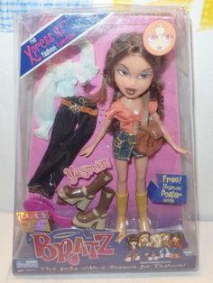 2002-MGA-BRATZ-The-Xpress-it-Fashion-Collection-039-039-Yasmin-039-039-NRFB-TOTY-AWARD