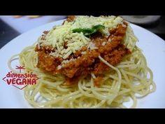 Salsa boloñesa o bolognesa vegana