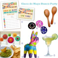 • Cinco de Mayo Bunco Party - LL Papergoods