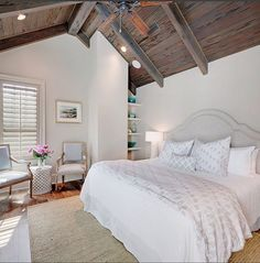 Farrow and Ball light gray. The master bedroom paint color is Farrow and Ball light gray. #FarrowandBallLightGray Old Seagrove Homes.