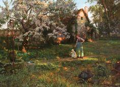 ❧ Alrauna Homestead ❧ — Frederick Judd Waugh