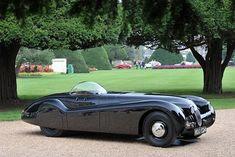 1952 Jaguar XK120 Jabbeke