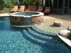 Zero Entry Pools Design, Pictures, Remodel, Decor and Ideas - page on