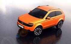 New Lada Niva - 2015 design sketch - I definitely like it!