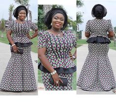 The most beautiful collection ankara aso ebi styles of 2018 you must try. These beautiful aso ebi are very exotic Latest African Fashion Dresses, African Dresses For Women, African Print Dresses, African Print Fashion, African Attire, African Wear, African Women, Ankara Fashion, African Prints