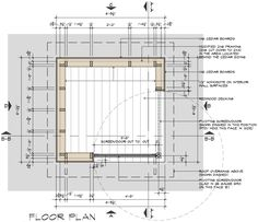 Movie Theater Playhouse CD's Floor Plan