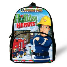 14c2a7080d Buy New Arrival Cartoon Hero Fireman Sam Printed Backpacks For Kids Bag For  Children Boys Schoolbag For Kindergarten Gifts