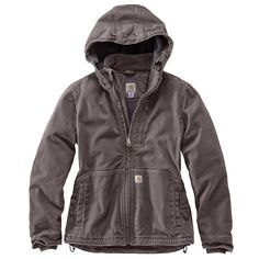 Carhartt Full Swing Caldwell Jacket for Ladies - Taupe Gray - XL Fashion Tips For Women, Womens Fashion For Work, Sporty Fashion, Ski Fashion, Ladies Fashion, Country Outfits, Country Girls, Western Outfits, Country Fashion