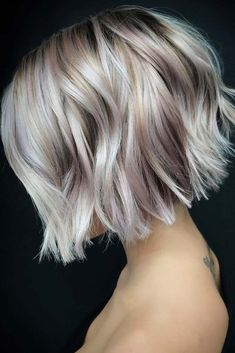 Graduated Bob Haircuts, Stacked Bob Hairstyles, Short Black Hairstyles, Hairstyles With Bangs, Latest Hairstyles, Anime Hairstyles, Hairstyles Videos, Hairstyle Short, School Hairstyles