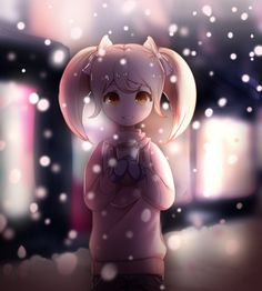 Winter Hiyoko by Kanmii