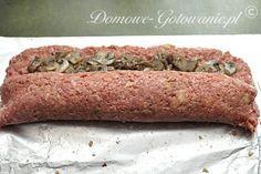 Rolada z mięsa mielonego z pieczarkami - Przepis