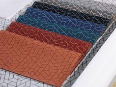 LUUM Textiles 2014 - Flexagon, Form + Structure collection