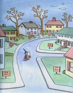 Fresh Cartoon Pictures Of Homes