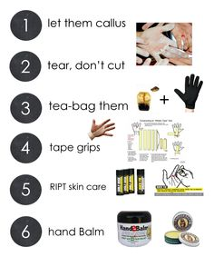 Gymnastics Rips - 6 tips for caring for gymnastics rips