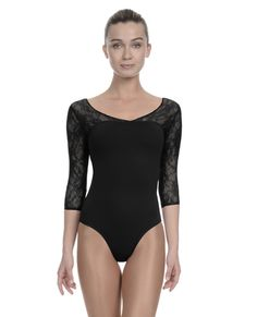 Shop Danskin.com for NYCB V-Neck Sweetheart Lace Inset Leotard and see the entire selection of WOMEN LEOTARDS.
