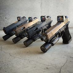 Keep calm and glock on. — Lineup of @salientarmsinternational porn. (posted...