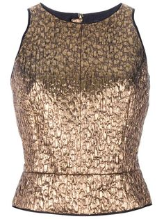 ROCHAS - Sleeveless Top