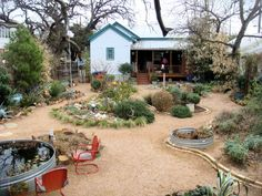 Love this yard!  Xeriscaping is great...and it's beautiful too.
