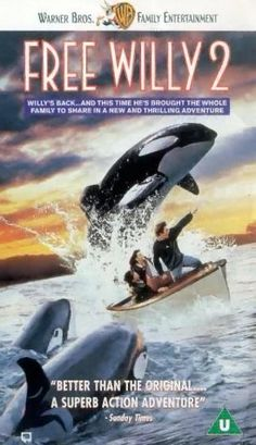 Free Willy 2: The Adventure Home (1995) Jesse becomes reunited with Willy three years after the whale's jump to freedom as the teenager tries to rescue the killer whale and other orcas from an oil spill. Jason James Richter, Michael Madsen, Francis Capra...family