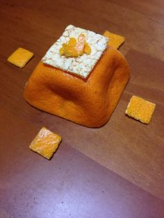 Japanese Orange Art みかんの皮アート