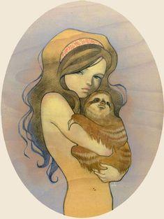 audrey+wood+illustration   Inspiration: Amazing artist Audrey Kawasaki