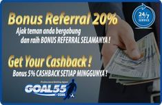 Bonus Referral Baru Up To 20 Persen Agen Judi Online