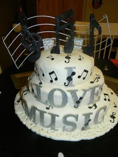 151 Best Musical Cakes Images Music Cakes Music Note Cake Music