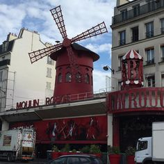 Pigalle this morning in Paris