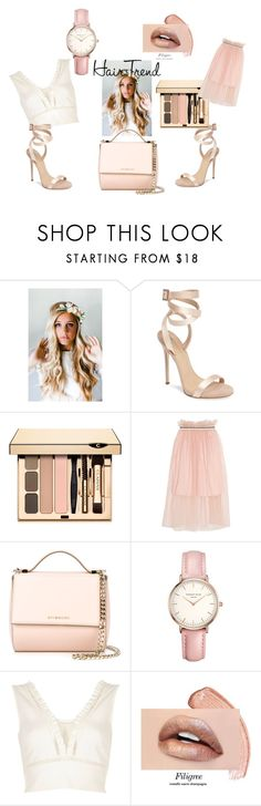 """""""Match&Mix the Style"""" by evaki-jen ❤ liked on Polyvore featuring Emily Rose Flower Crowns, Giuseppe Zanotti, Mother of Pearl, Givenchy, Topshop, River Island, hairtrend and rainbowhair"""