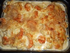 Breton-style cod gratin - Gratin de cabillaud a la bretonne The best Breton Gratin Cod recipe! Cod Recipes, Fish Recipes, Meat Recipes, Healthy Recipes, Sangria Recipes, Cocktail Recipes, Crema Fresca, Warm Food, Cooking Time