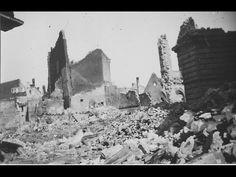 Mainz - Blick in die Rosen- und in die Steingasse, aufgenommen 1945 Mainz Germany, World War I, Wwi, Monument Valley, Europe, France, World War One, Pictures, French Resources