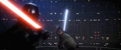 Darth Vader .vs. Luke Skywalker