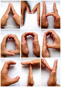 Нафтусины рукотворочки: Ловкость пальцев... и снова алфавит )))
