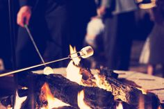 Campfires + Cold Nights + Friends + Smores/Drinks= Greatness