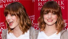 Hairstyles for Oval Faces: The 20 Most Flattering Cuts: The Right and Wrong Way to Wear Bangs