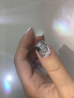 Nailart, Finger, Almond Nails, Love Nails, Christmas Nails, Nails Inspiration, Nail Art Designs, Class Ring, Nail Polish